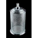 Ведро стекло MURANO CRYSTAL Хром Boheme 10914-CRST-CH