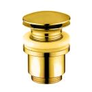 Bugnatese Акс автослив для раковины Клик-Клак золото