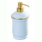 Raffaella дозатор для жидкого мыла хром-золото