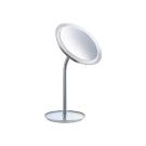 KEUCO Косметическое зеркало с подсветкой настольное хром