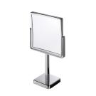 FREE STANDING зеркало для бритья 19х19см хром