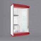 Зеркало для ванной WaterWorld Дуга В 500 зеркало 2 полки R