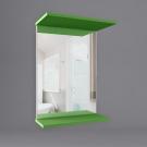 Зеркало для ванной WaterWorld Лотос В 600 Зеркало