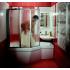 Шторка для ванн VS3 130 белая транспарент