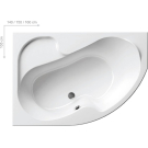 Ванна акриловая Ravak Rosa I 140х105 P