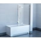 Шторка для ванной Ravak BVS2-100 R хром+Транспарент