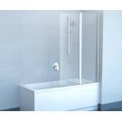Шторка для ванной Ravak CVS2-100 L белый+стекло Transparent