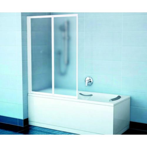 Шторка для ванной Ravak VS2 105 сатин + Грапе