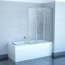 Шторка для ванной Ravak VS3 130 белая + Santro
