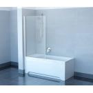 Шторка для ванн CVS1-80 R сатин стекло Transparent Ravak 7QR40U00Z1