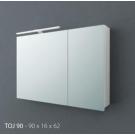 Зеркало-шкаф с подсветкой Kolpa San TOJ 120 WH/WH Jolie