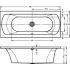 Riho Ванна акриловая LIMA 160х70 45 175 л прямоугольная