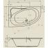 Riho Ванна акриловая LYRA 170х110 L асимметричная
