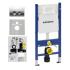 Geberit DUOFIX 458.161.21.1 инсталляция с клавишей смыва, прокладкой, креплениями