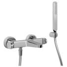 F3934CR Смеситель для ванны с душевым комплектом Fima Carlo Frattini серия Next хром