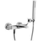 F3964CR Смеситель для ванны с душевым комплектом Fima Carlo Frattini серия Zeta хром