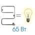Электрический полотенцесушитель Energy E-G2 625x450 (65Вт)
