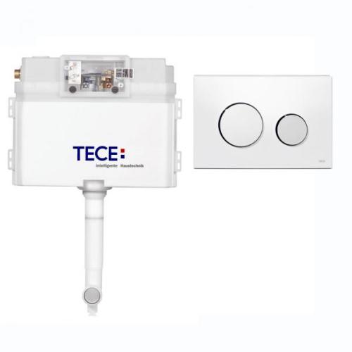 K041627 Комплект для установки напольного унитаза с панелью смыва 9240627 TECEloop хром глянц