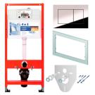 K400401 Комплект для установки подвесного унитаза с панелью смыва ТЕСЕnow 9240401 хром глянц.