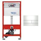 К300832 Комплект для установки подвесного унитаза с панелью смыва ТЕСЕsquare II 9240832 металл белый