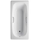 Ванна стальная BLB UNIVERSAL ANATOMICA HG 170x75 белая 3,5 мм с отверстиями для ручек