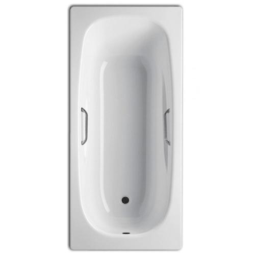 Ванна стальная BLB UNIVERSAL ANATOMICA 170x75 белая с отверстиями для ручек