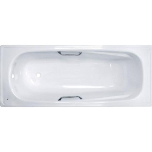 Ванна стальная BLB UNIVERSAL HG 150x75 белая 3,5 мм с отверстиями для ручек