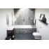 Ванна стальная BLB ATLANTICA HG 180x80 белая с антислипом 3,5 мм без отверстий для ручек