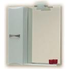 Зеркало со шкафом (правым/левым) и подсветкой Aqwella Маэстро Mst.02.06 Белый