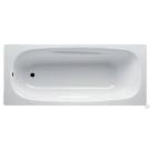 BLB Ванна стальная UNIVERSAL ANATOMICA 170x75 белая без отверстий для ручек 208 мм