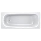 BLB Ванна стальная UNIVERSAL ANATOMICA HG 170x75 белая 3,5 мм без отверстий для ручек 208 мм