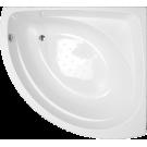 Акриловая ванна Эмилия (Emilia) 137x137 Vanessa