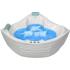 Белрадо Гранд-Люкс 144x144 акриловая ванна