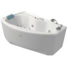 Bellrado Адель 167x100 акриловая ванна с ручками с гидромассажем (6 гидромассажных джет)