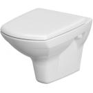 701033 Унитаз Carina new Clean on белый подвесной, сидение дюропласт микролифт, Cersanit