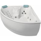 Bellrado Лора 150х150 акриловая ванна с гидромассажем (7 г/м джет + 8 сп/м джет)