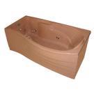 Bellrado Калипсо 1695х885х680 ванна из камня с гидромассажем (6 гидромассажных джет)