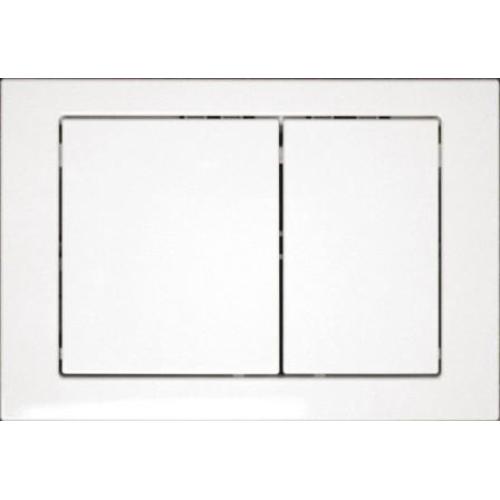 Cersanit 73113 Кнопка для инсталляции Link M05 белая прямоугольная пластиковая