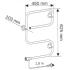 Электрический полотенцесушитель PAX TR 65 625x450 xром (60Вт)