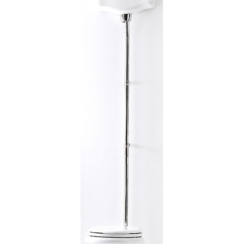 Kerasan Retro 750290/CR Сливная труба для высокоуровневого бачка 1080, цвет-хром для 1010,1011