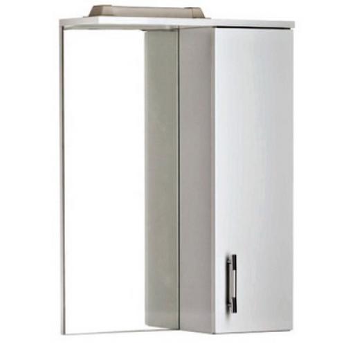 Cersanit Зеркало-шкафчик Erica 50 с подсветкой белый