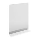 MELAR Зеркало с полочкой без Подсветки Белый Cersanit