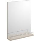 568003 Зеркало SMART с полочкой без подсветки белый Cersanit