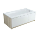 017408 Модуль для ванны SMART 80 боковой ясень Cersanit