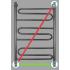 Полотенцесушитель водяной Energy SONATA 1000x500