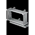 Полотенцесушитель электрический MARGAROLI 591 хром 40x50