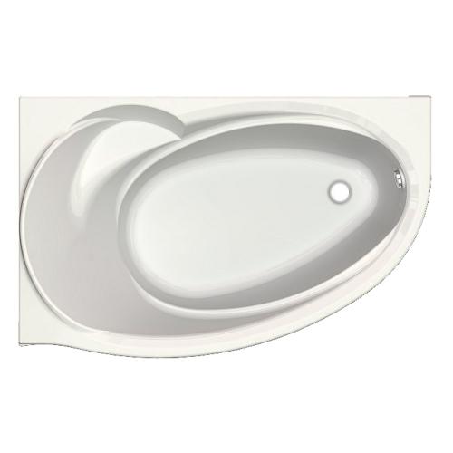 Акриловая ванна асимметричная Бетта 170х97 правая или левая Акватек