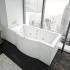 Акриловая ванна Гелиос 180х90 прямоугольная Акватек