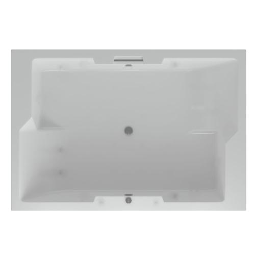 Акриловая ванна Дорадо 190х130 прямоугольная Акватек