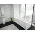 Акриловая ванна Лея 170х75 прямоугольная Акватек
